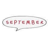 September bubble Stock Photos