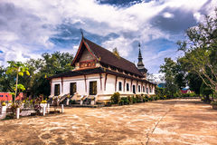 20. September 2014: Buddhistischer Tempel in Luang Prabang, Laos Lizenzfreies Stockbild