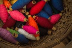 22.-24. September 2017, Chiang Rai Silk und Baumwolle angemessen Stockbild