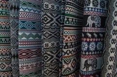 22.-24. September 2017, Chiang Rai Silk und Baumwolle angemessen Lizenzfreies Stockbild