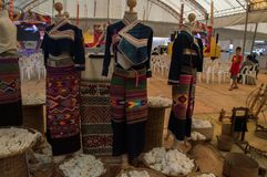 22.-24. September 2017, Chiang Rai Silk und Baumwolle angemessen Stockbilder
