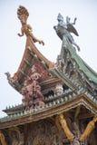 September 14, 2014 Den riktiga templet är en unik tempelcompletel Royaltyfria Foton