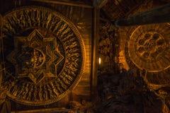 September 14, 2014 Den riktiga templet är en unik tempelcompletel Royaltyfria Bilder