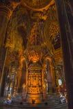 September 14, 2014 Den riktiga templet är en unik tempelcompletel Arkivbild