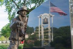 11. September Denkmal, Peekskill, NY Stockfotografie