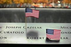 September Denkmal, World Trade Center Lizenzfreies Stockbild