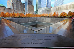 September Denkmal, World Trade Center Stockfotos