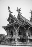 14. September 2014 Der wahre Tempel ist ein einzigartiges Tempel completel Stockfotografie