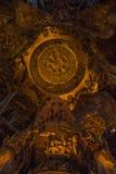 14. September 2014 Der wahre Tempel ist ein einzigartiges Tempel completel Stockbild
