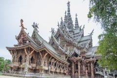 14. September 2014 Der wahre Tempel ist einer des größten examp Stockfotografie