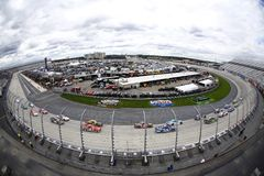 NASCAR: September 30 Use Your Melon. Drive Sober 200. September 30, 2017 - Dover, Delaware, USA: The NASCAR Xfinity Series teams take to the track for the Use stock photos