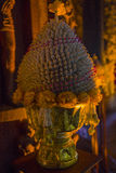 September 14, 2014 Erbjuda i templet av sanning, Pattaya, Arkivfoto