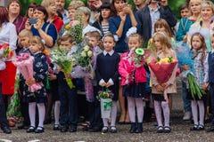 September första- dag av kunskap i Ryssland Arkivbilder