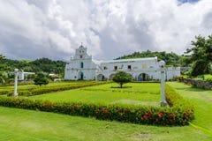 September 22, 2017 förutom San Jose Borromeo Church, Batanes royaltyfri fotografi