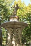 Fountain in the garden of Aranjuez, Spain. September 26 2017 Spain. September 26 2017, Fountain in the garden of Aranjuez, Spain. September 26 2017 Spain Royalty Free Stock Photo