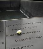 11 september gedenkteken Stock Afbeeldingen