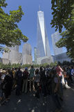 11 september Gedenkteken - de Stad van New York, de V.S. Royalty-vrije Stock Afbeeldingen