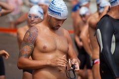 13 September 2014, Gran Canaria, overzees zwemt Stock Afbeelding