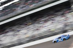 NASCAR: September 10 Big Machine Vodka 400 at the Brickyard. September 10, 2018 - Indianapolis, Indiana , USA:Kyle Larson 42 races down the front stretch during stock image