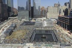 September 11 infinite pool memorial Stock Image
