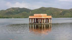 September 2015 jalmahal in man sagar lake in jaipur, rajasthan india.September 2015 stock image