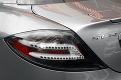5 september, 2017 Kiev - de Oekraïne Stadscentrum hypercar tuning Mercedes-Benz SLR McLaren 722 Uitgave royalty-vrije stock afbeelding