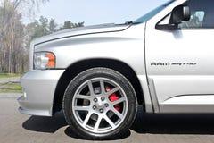 4. September 2012 Kiew Dodge Ram SRT-10 lizenzfreies stockfoto