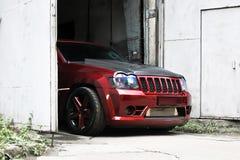 18. September 2012 Kiew Jeep Grand Cherokee SRT8 lizenzfreies stockfoto