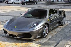 September 4, 2012, Kyiv. Ferrari F430. Luxury. royalty free stock images