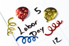 September 5, Labor day Stock Photography
