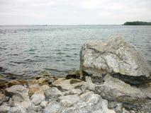 September lake. In the Orenburg region Stock Photography