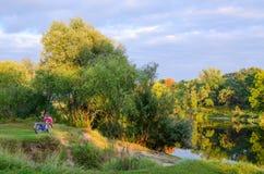 September-landschap Royalty-vrije Stock Afbeelding