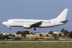 4 September 2015, Luqa, Malta: All vit 737 Royaltyfria Foton