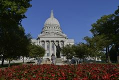 Capital Building in Madison, Wisconsin Royalty Free Stock Photos