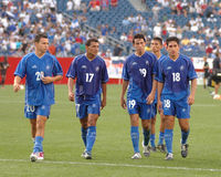 September 4, 2004 members of Team El Salvador Royalty Free Stock Photo