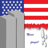 September 11 Memorial Stock Photography