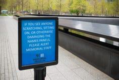 September 11 memorial Stock Photography