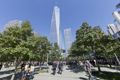 September 11 Memorial - New York City, USA Stock Photos