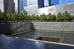 September 11 minnesmärke, New York City Fotografering för Bildbyråer