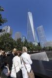 September 11 minnesmärke - New York City, USA Arkivbilder