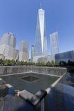 September 11 minnesmärke - New York City, USA Royaltyfri Fotografi