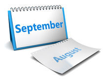 September month Stock Photography