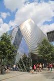 September 11 museum i September 11 Memorial Park i Lower Manhattan Royaltyfri Fotografi