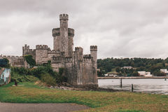 September 2nd, 2017 - Blackrock Castle, a castellated fortification located at Blackrock, about 2 km from the centre of Cork city Stock Images