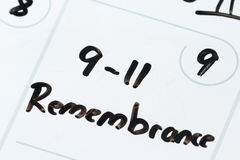September 11 remebrance Royalty Free Stock Images