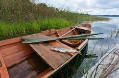 September's Russian lake scenery Royalty Free Stock Photos