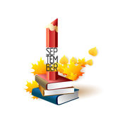 September 1st. Back To School background Stock Photo