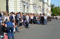 1. September in St Petersburg Lizenzfreies Stockbild