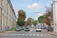 2 September 2017, Kiev - Ukraine; Street of the old city of Kiev stock image