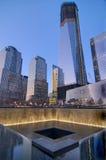 September 11th minnesmärke Arkivfoto